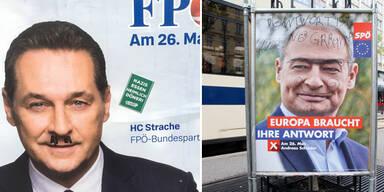 So schmutzig ist der EU-Wahlkampf