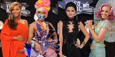 Die schönsten und schrägsten Outfits der MTV VMAs