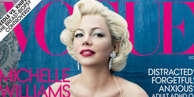 Michelle Williams als Marilyn Monroe-Double