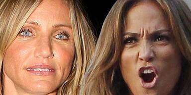 Cameron Diaz & Jennifer Lopez: Zickenkrieg