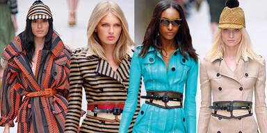 Coat-Couture bei Burberry