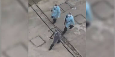 Wuhan Polizei Waffen