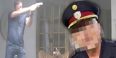 Polizei stellt Straches Ex-Bodyguard kalt