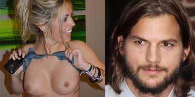 Sara Leal, die angebliche Geliebe von Ashton Kutcher