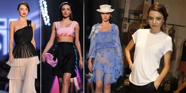 Miranda Kerr bei der Paris Fashion Week