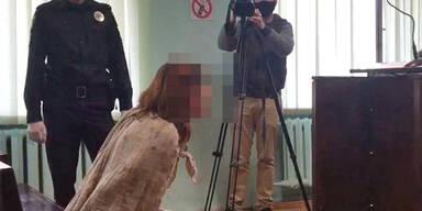Ukraine Charkiw Mutter Tochter geköpft