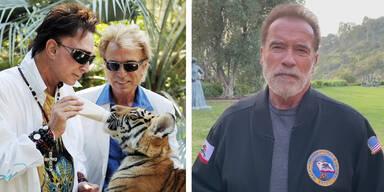 So emotional trauert Arnie um Roy Horn