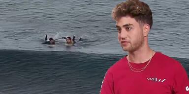 Dylan Nacass Surfer Australien Hai-Angriff