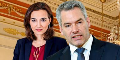 SPÖ lässt Zadic und Nehammer vorladen