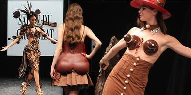 Salon du Chocolat Fashion 2011