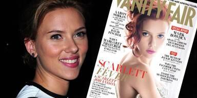 Scarlett Johansson in Vanity Fair