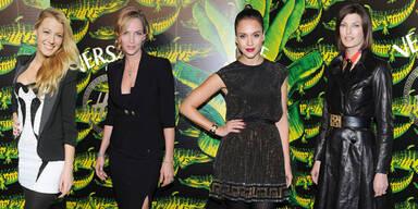 Stars bei der Versace für H&M Fashion Show