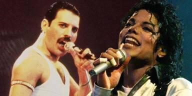 Freddie Mercury, Michael Jackson