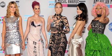Die Looks bei den American Music Awards 2011