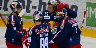 Salzburg gewinnt Thriller bei Vienna Capitals