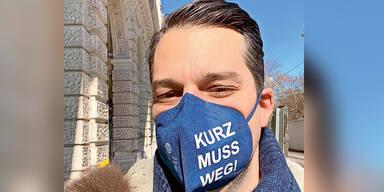 FPÖ-Parteitag wird Anti-Kurz-Maskenball