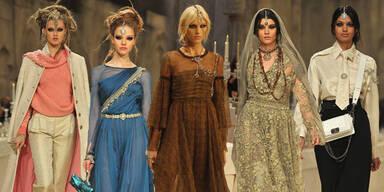 Modische Zeitreise: Chanel trifft Orient