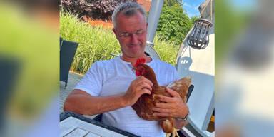 Norbert Hofer postet sein Lieblings-Huhn