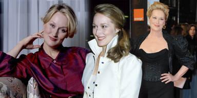 Meryl Streep im Wandel der Zeit