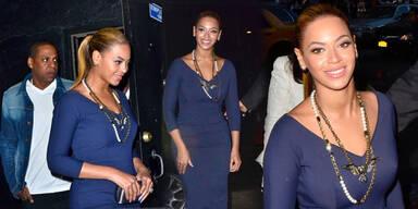 Beyoncé zeigt Kurven in Beckham-Kleid