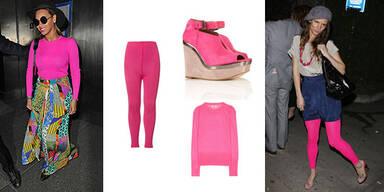 Beyoncé und Co im Pinkfieber