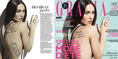 Megan Fox verliert Tattoo