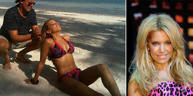 Silvie van der Vaart als sexy Bikini-Model