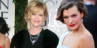 Milla Jovovich & Melanie Griffith kommen zum Life Ball