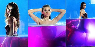 Selena Gomez schwimmt in ihrem Parfüm