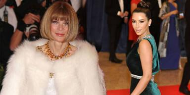Anna Wintour verbannte Kim von Met Gala