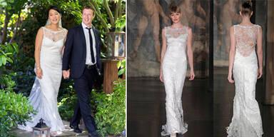 Das 4700 $  Braut-Kleid von Mrs. Facebook