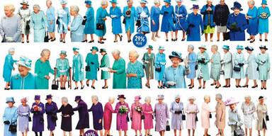 Die Lieblingsfarben der Queen