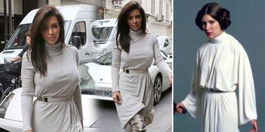 Kim Kardashian im Star Wars-Look