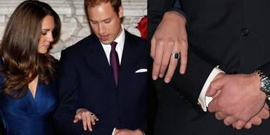 Kate Middleton & Prinz William verlobt