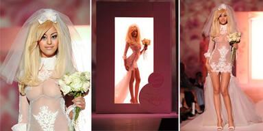 Zahia Dehar Couture Lingerie