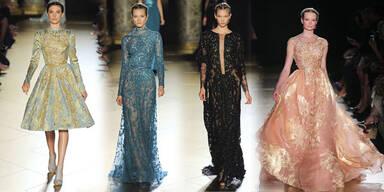 Elie Saab: königliche Couture-Roben für Stars