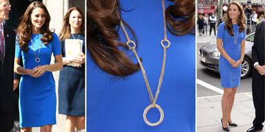Kate Middleton trägt 62.000€ Cartier-Kette.