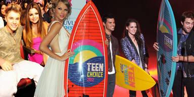 Stars bei den Teen's Choice Awards