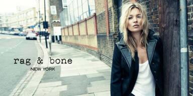 Kate Moss modelt für Rag&Bone