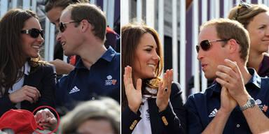 Prinz William & Kate: Immer noch so verliebt