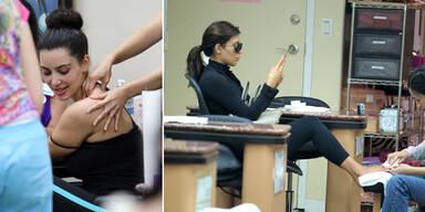 Kim Kardashians Beauty-Marathon
