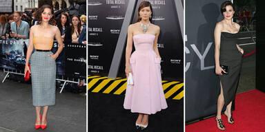 Stars im neuen Dior-Look