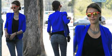 Jessica Alba: 'Habe einen Schlabber-Po'