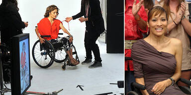Nordstroms wirbt mit Model im Rollstuhl