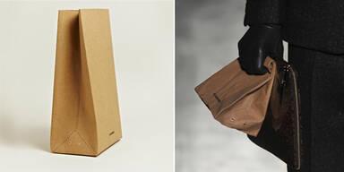 Luxus-Tüte um 200 Euro von Jil Sander