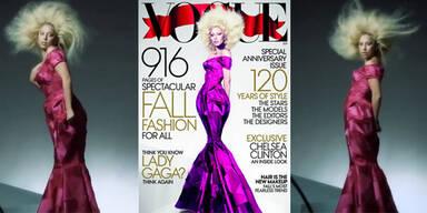 Vogues retuschiertes Lady Gaga-Cover