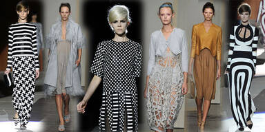Marc Jacobs zeigt 60's, Donna Karan Geometrie