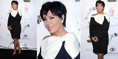 Kris Jenner zeigt sich aufgemascherlt