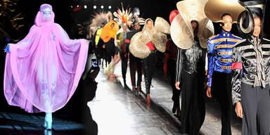 Lady Gaga modelt für Kates Hutdesigner