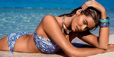 Plus Size-Model Robyn posiert nun auch im Bikini